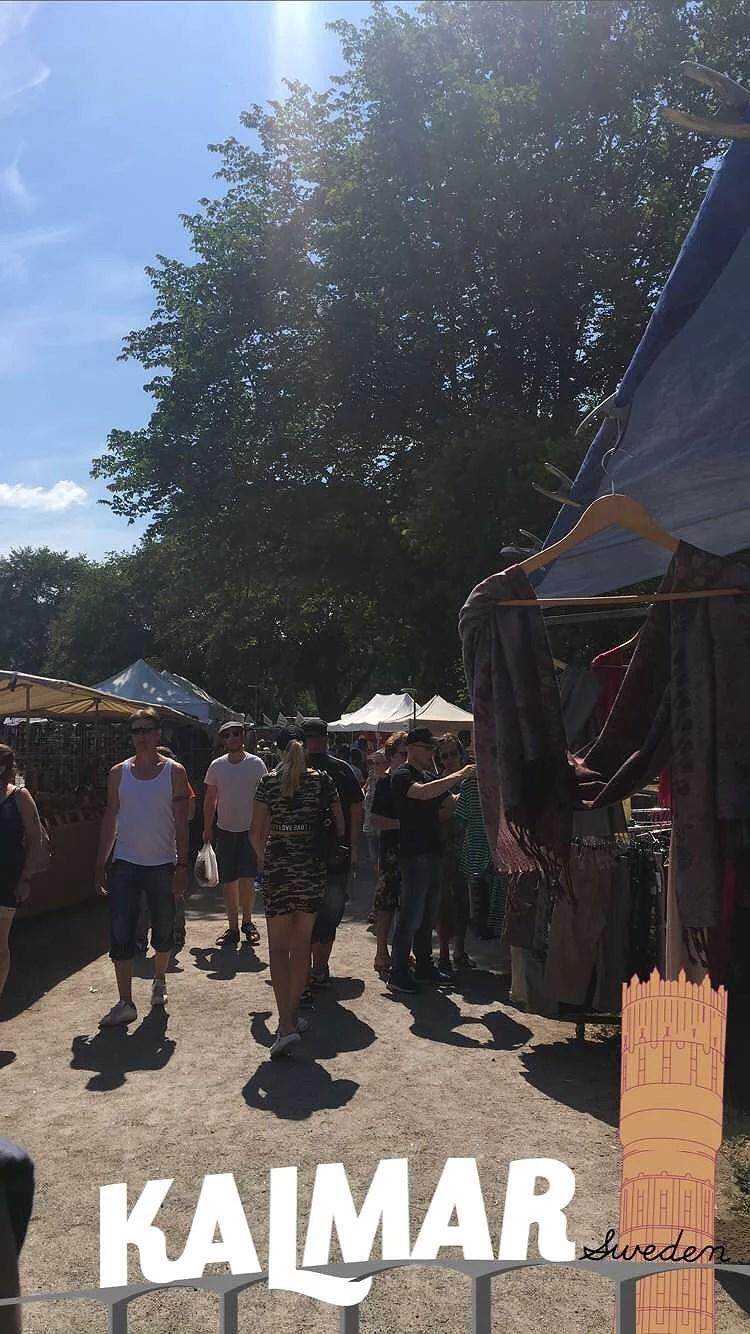 Marknad i Kalmar
