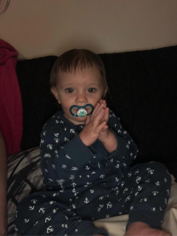 Klippa hår på en 1 åring