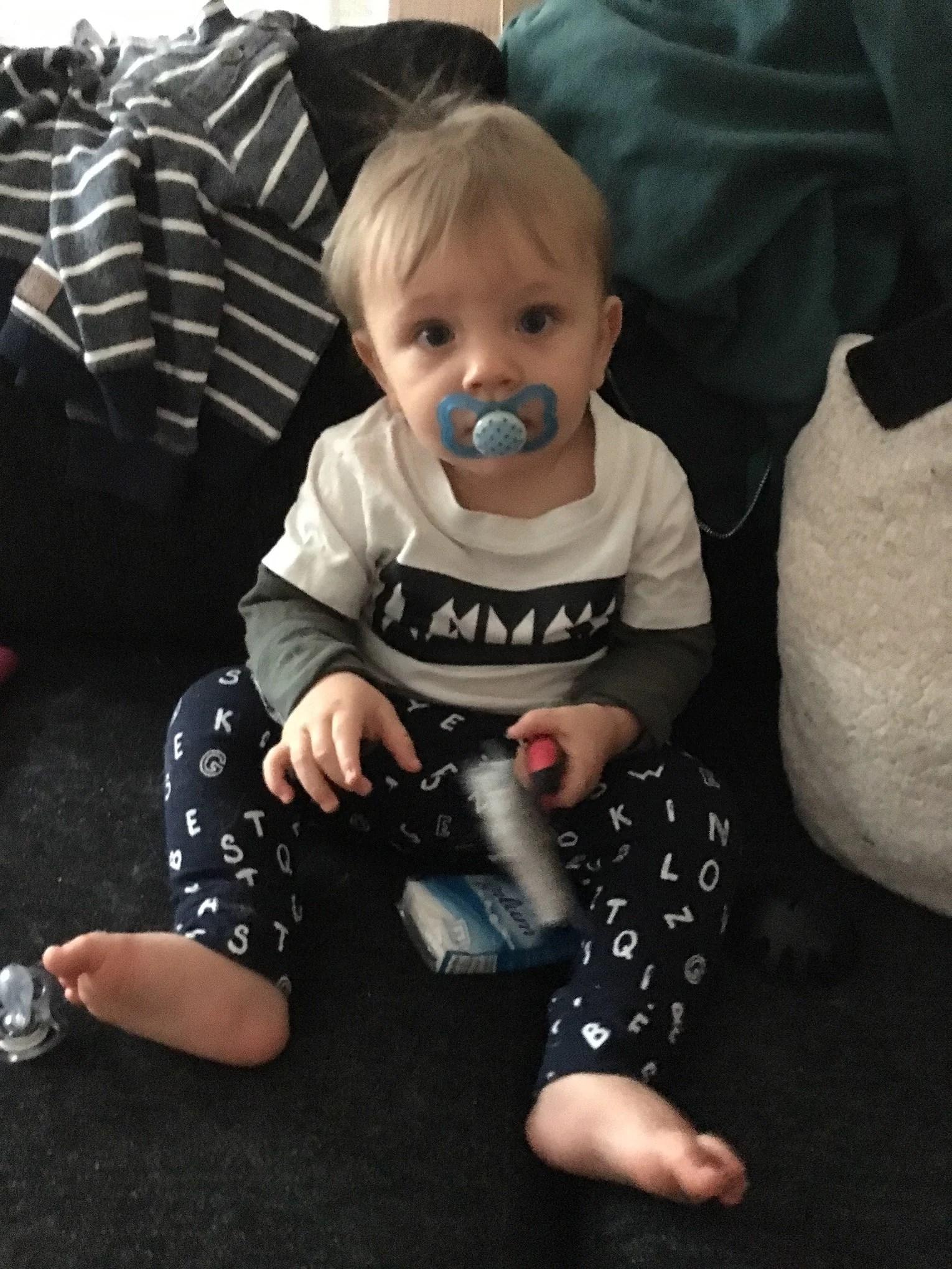 Uppe med tuppen