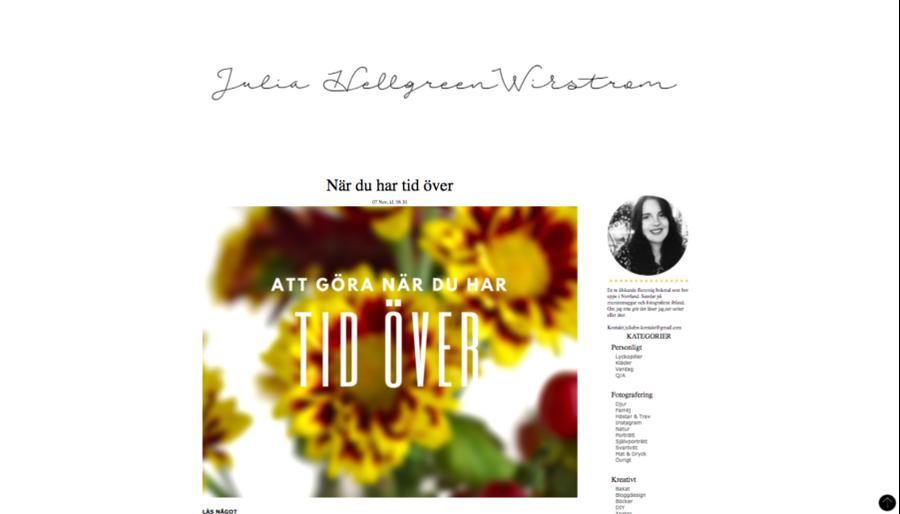 Ny bloggdesign