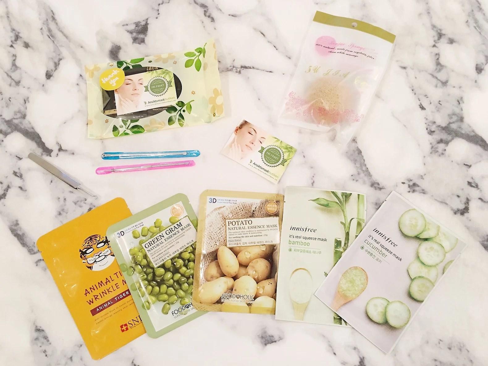 Produkter för en fräsch sommarhy