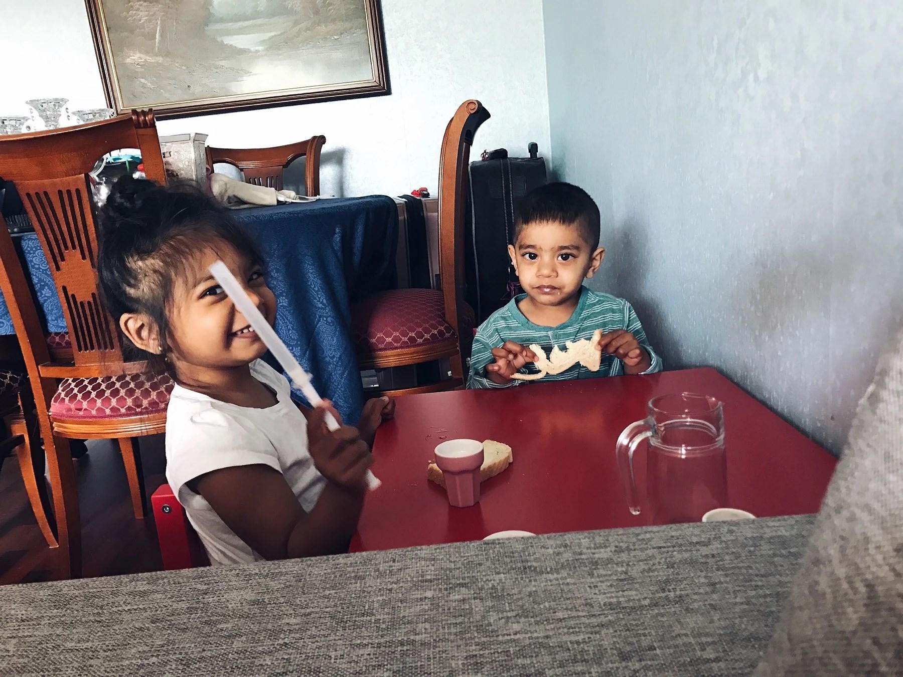 När man får oväntat besök