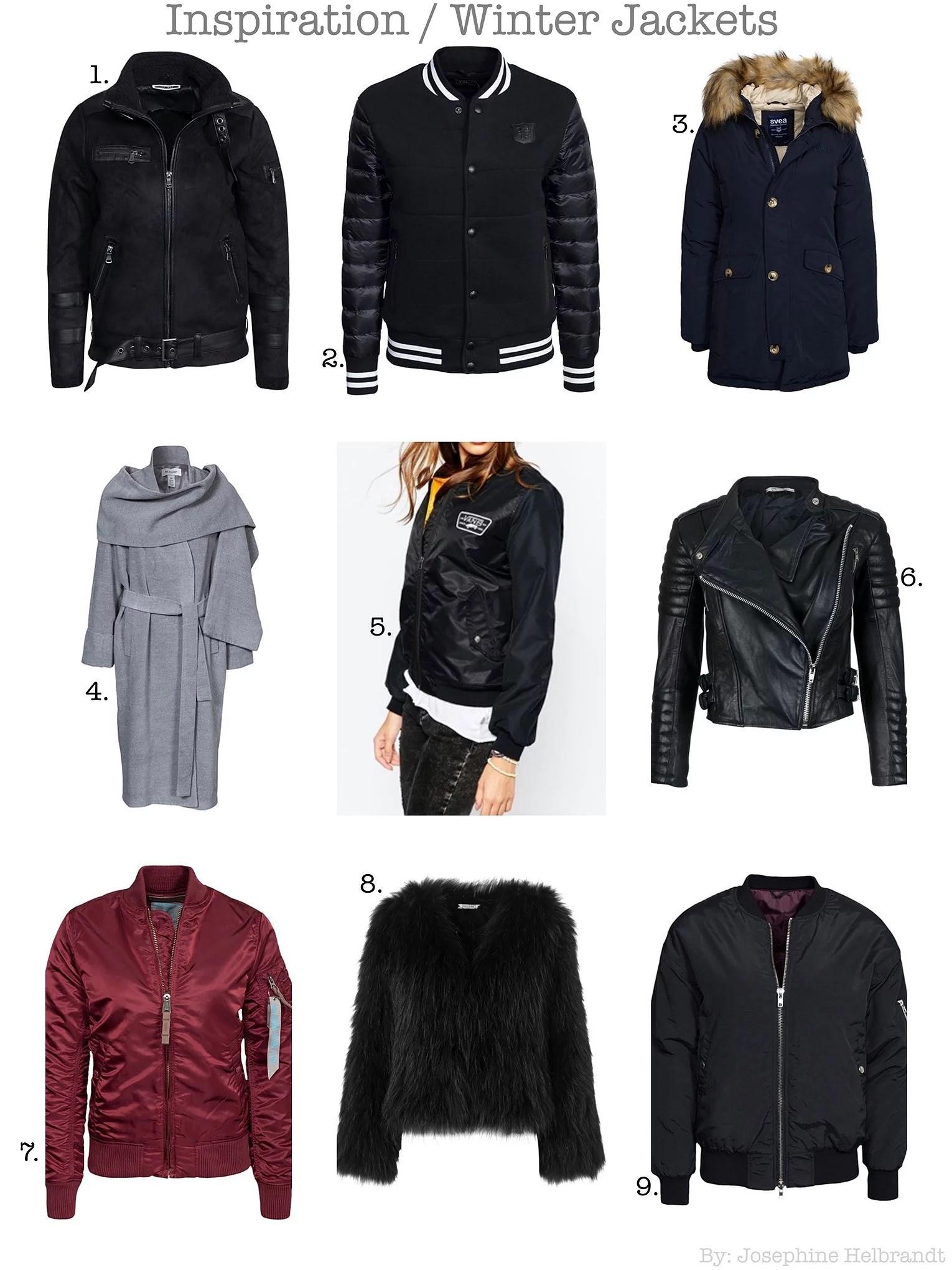 Inspiration // Winter Jackets