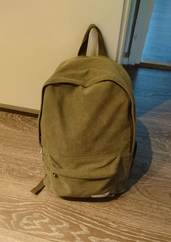 Väskan är packad