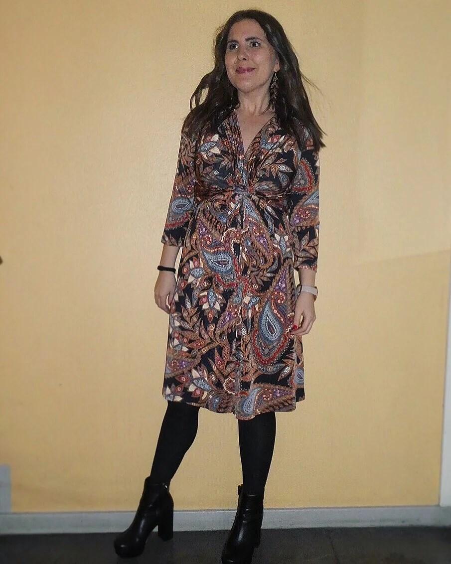 Gårdagens look och trettioårsfirande
