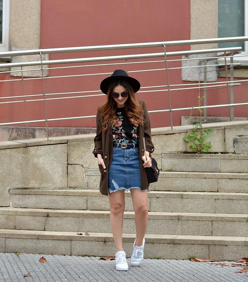 Denim Skirt for Summer