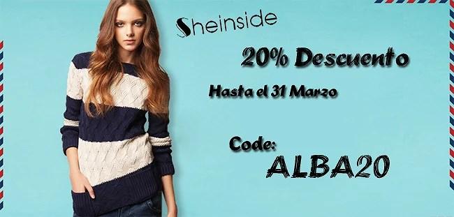 Descuento del 20% en Sheinside