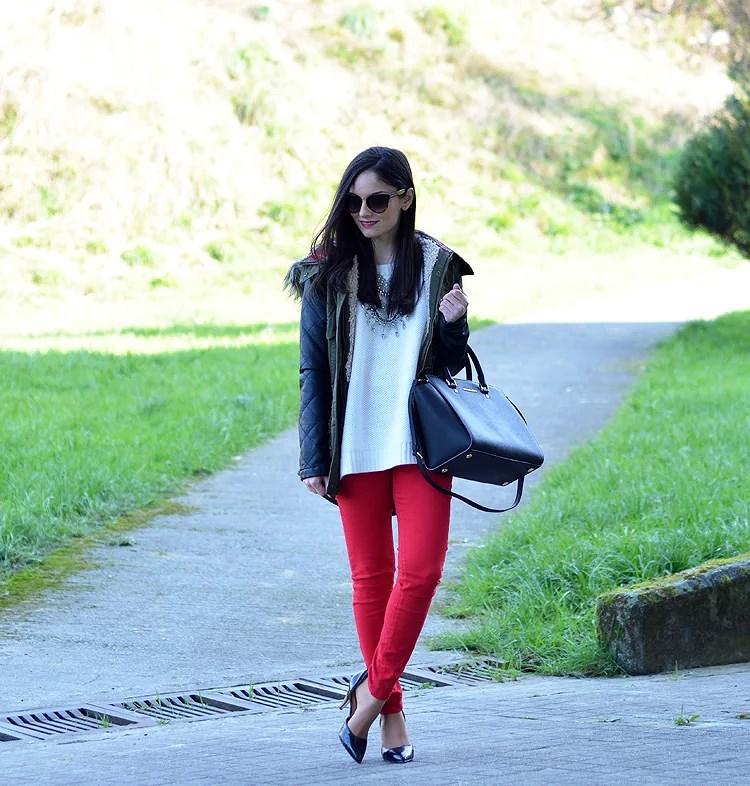...Red & Parka...