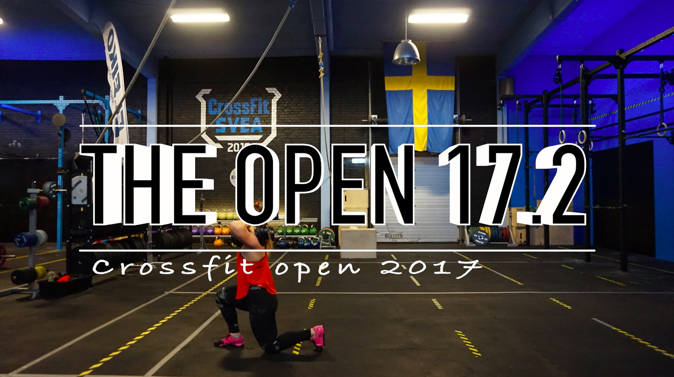 CROSSFIT OPEN 17.2 || PRESTATIONSÅNGEST