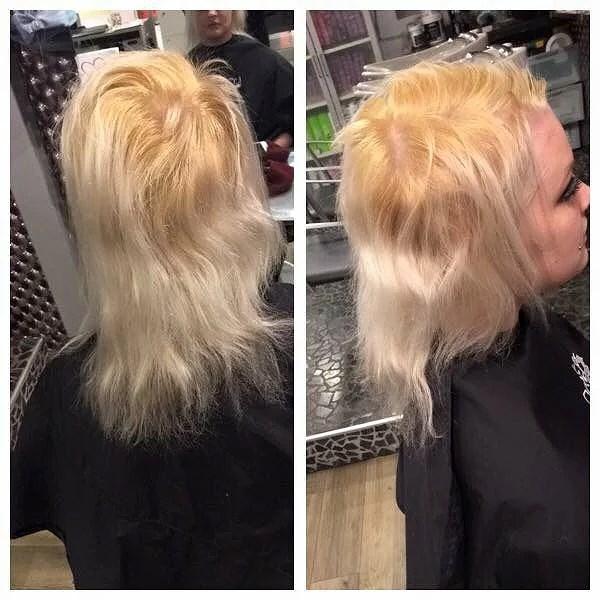 hår som går av
