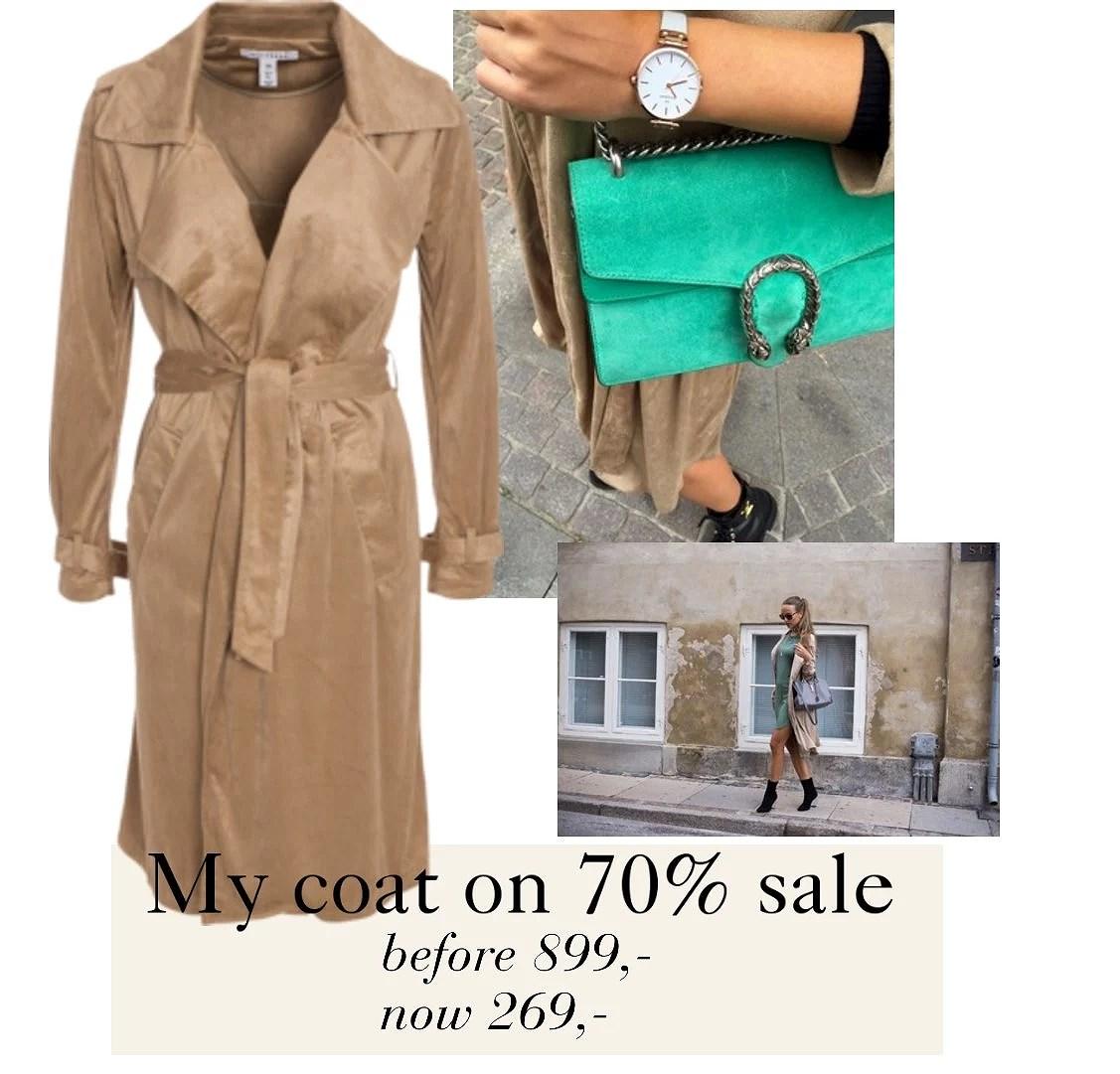 My coat on 70% sale!
