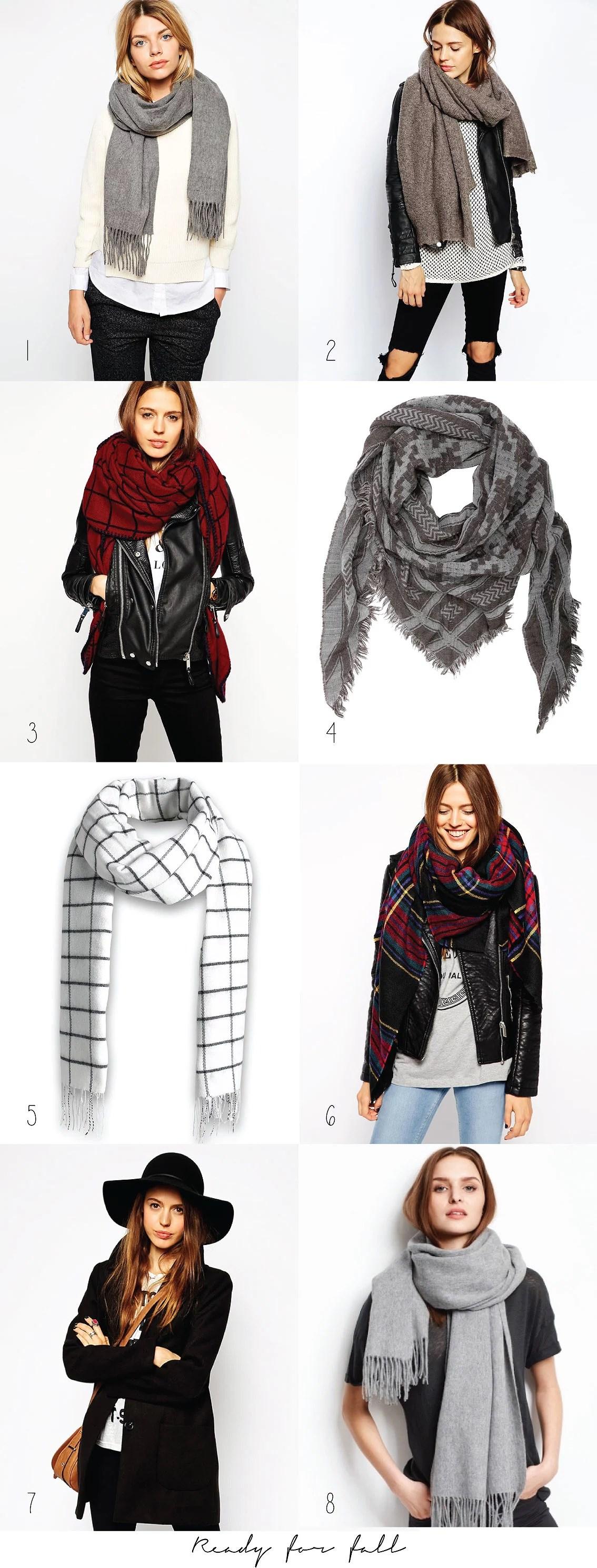Tørklæder til efterår-modeblogger-It's My Passions