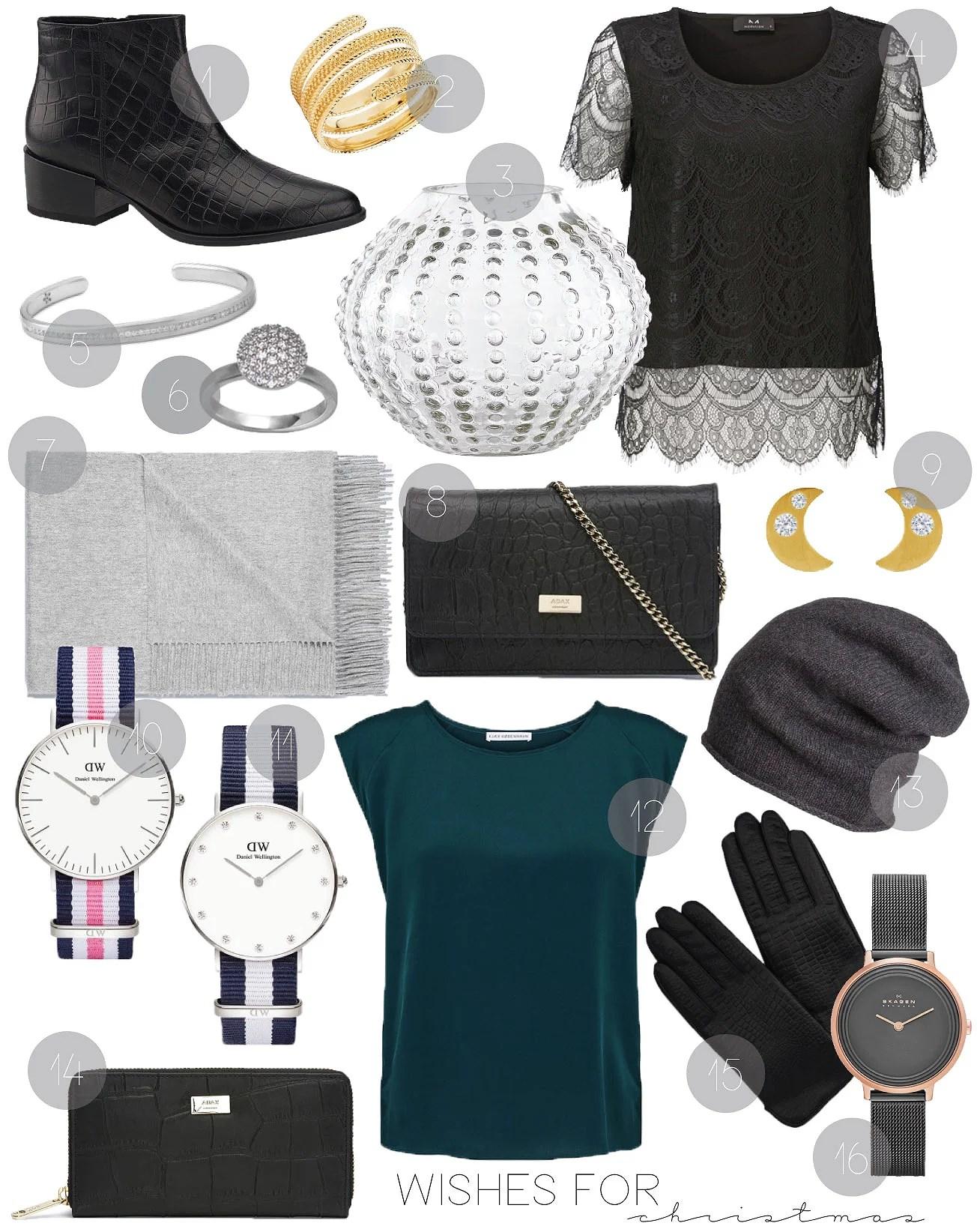 Modeblog, It's My Passions, Juleønsker, Ideer til ønskesedlen