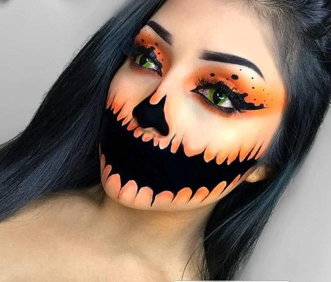 10 enklare halloween sminkningar!