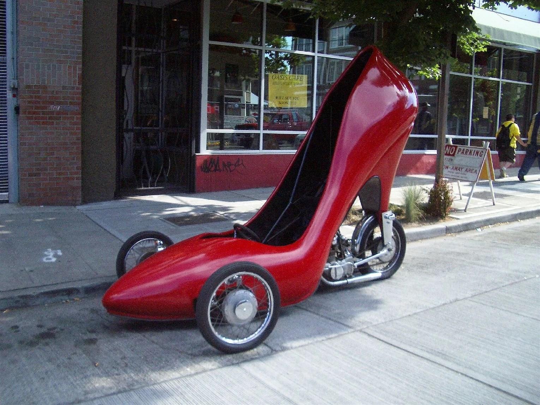 Min nya sko...