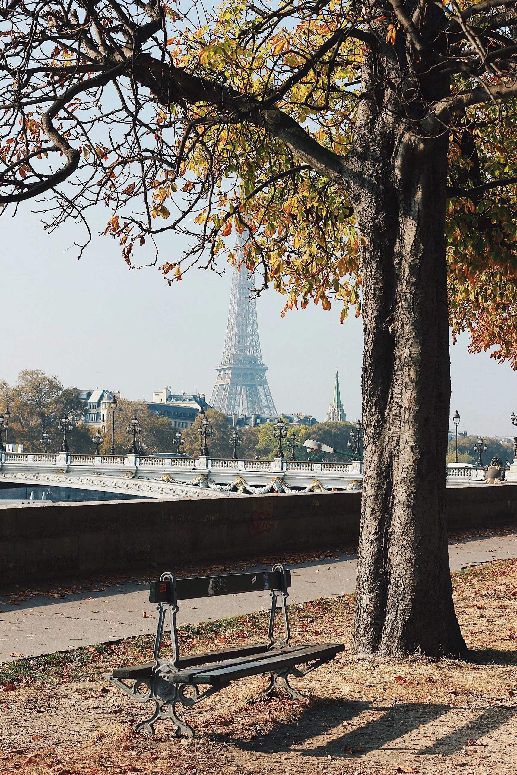 Strosa runt i Paris