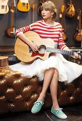 Taylor Swift & Sneakers