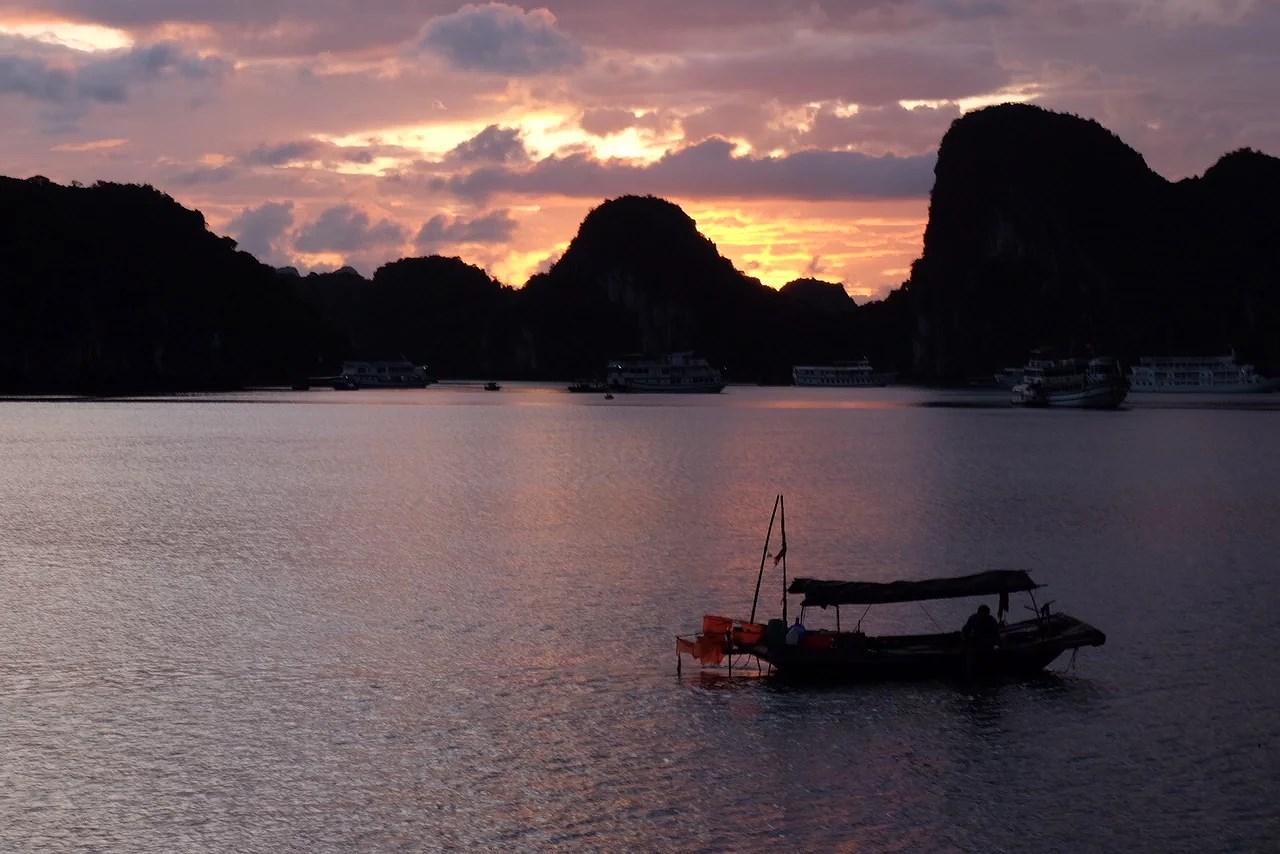 paisaje halong bay