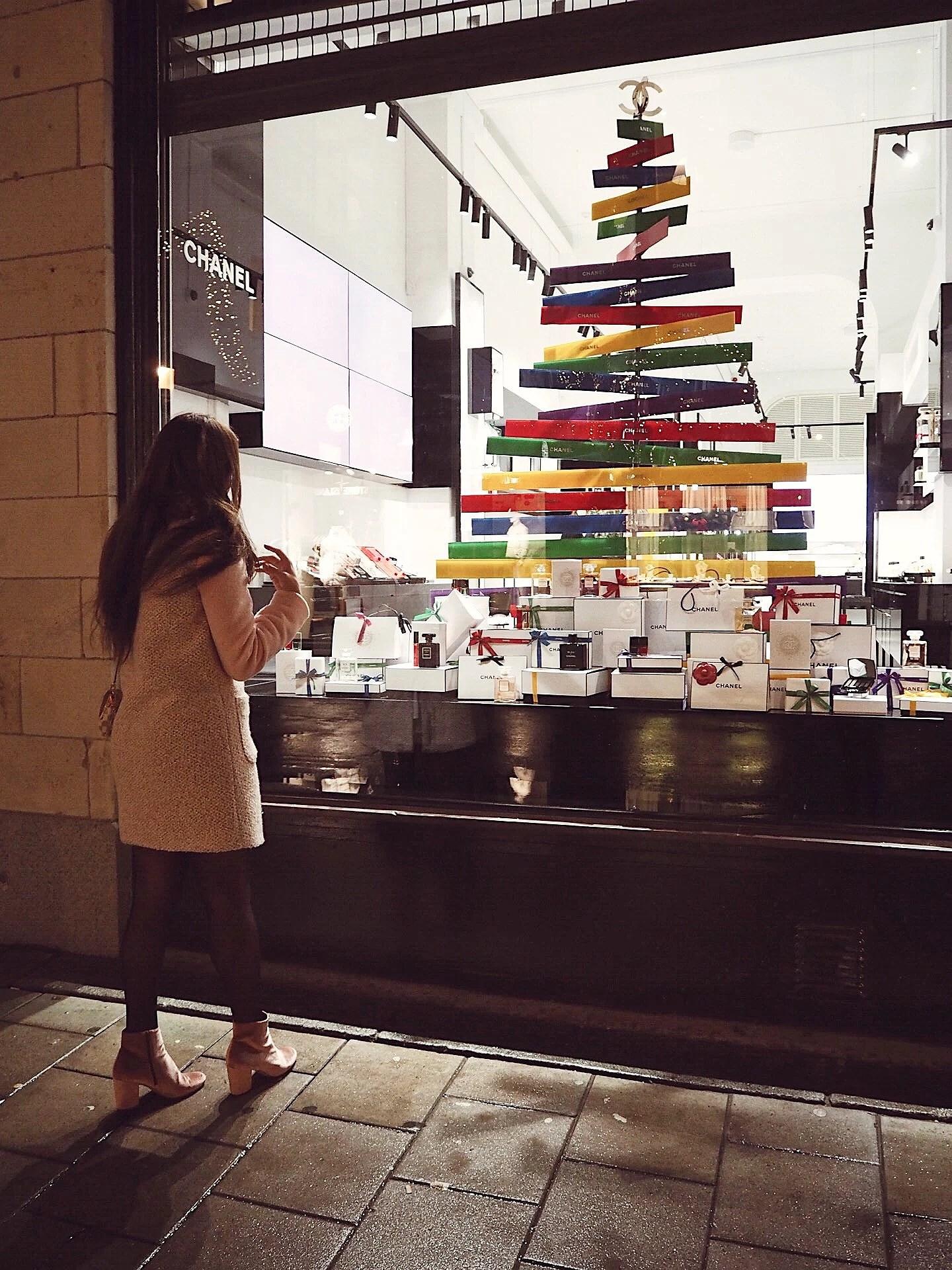 Chanel beauty boutique