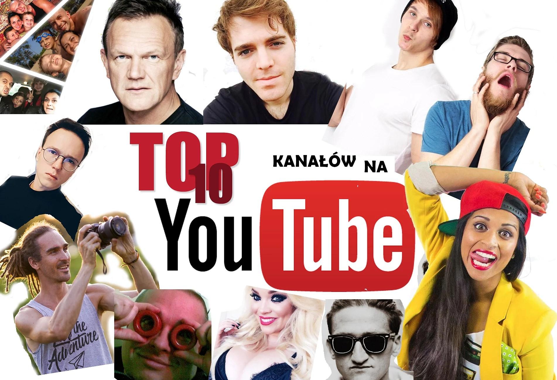 Moje TOP 10 ulubionych kanałów na YouTube