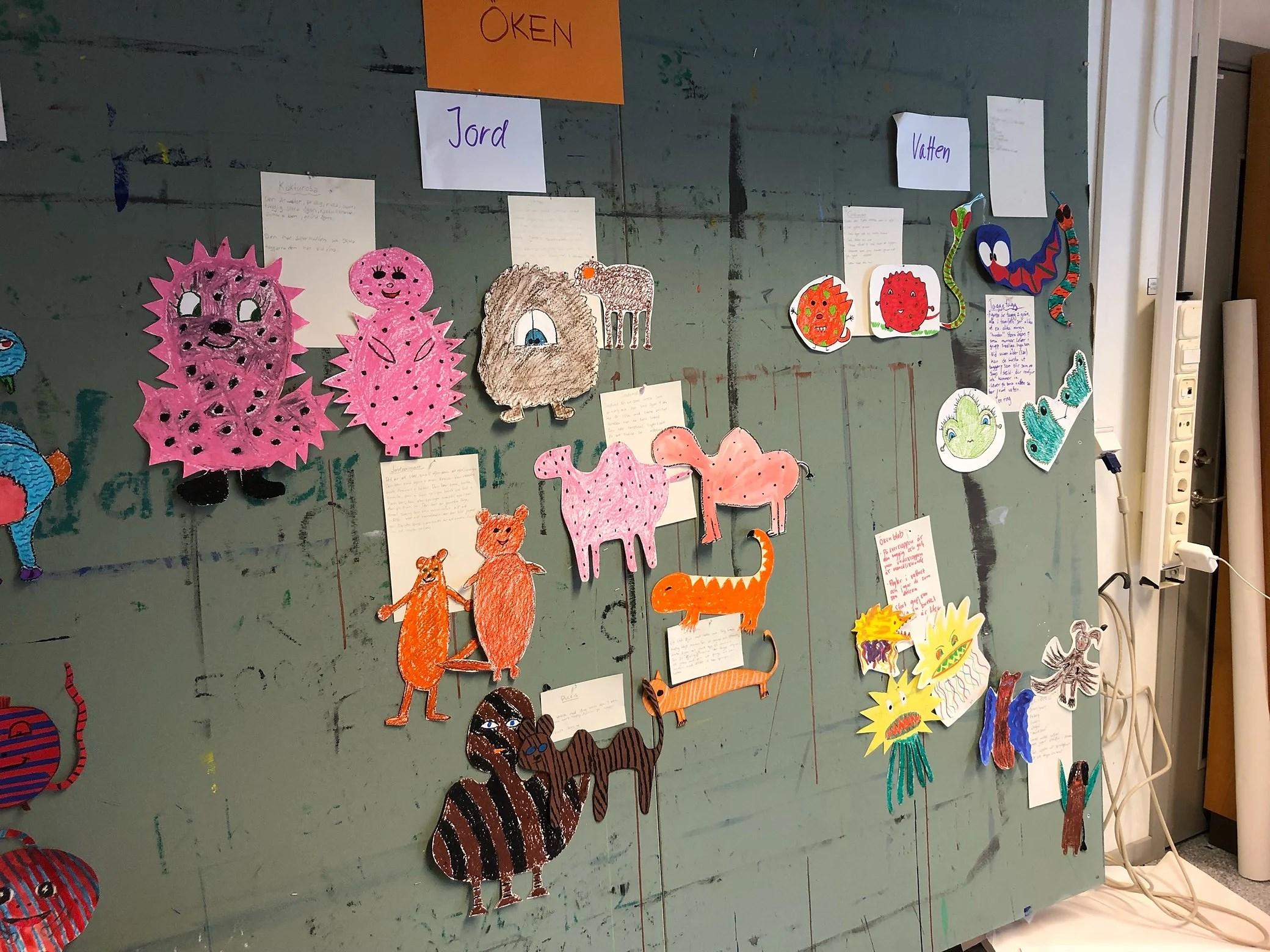 En kreativ dag på campus