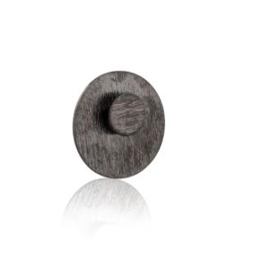 Cirkel i Cirkel i Rhodineret sølv. Kan bruges på 4 forskellige måder.