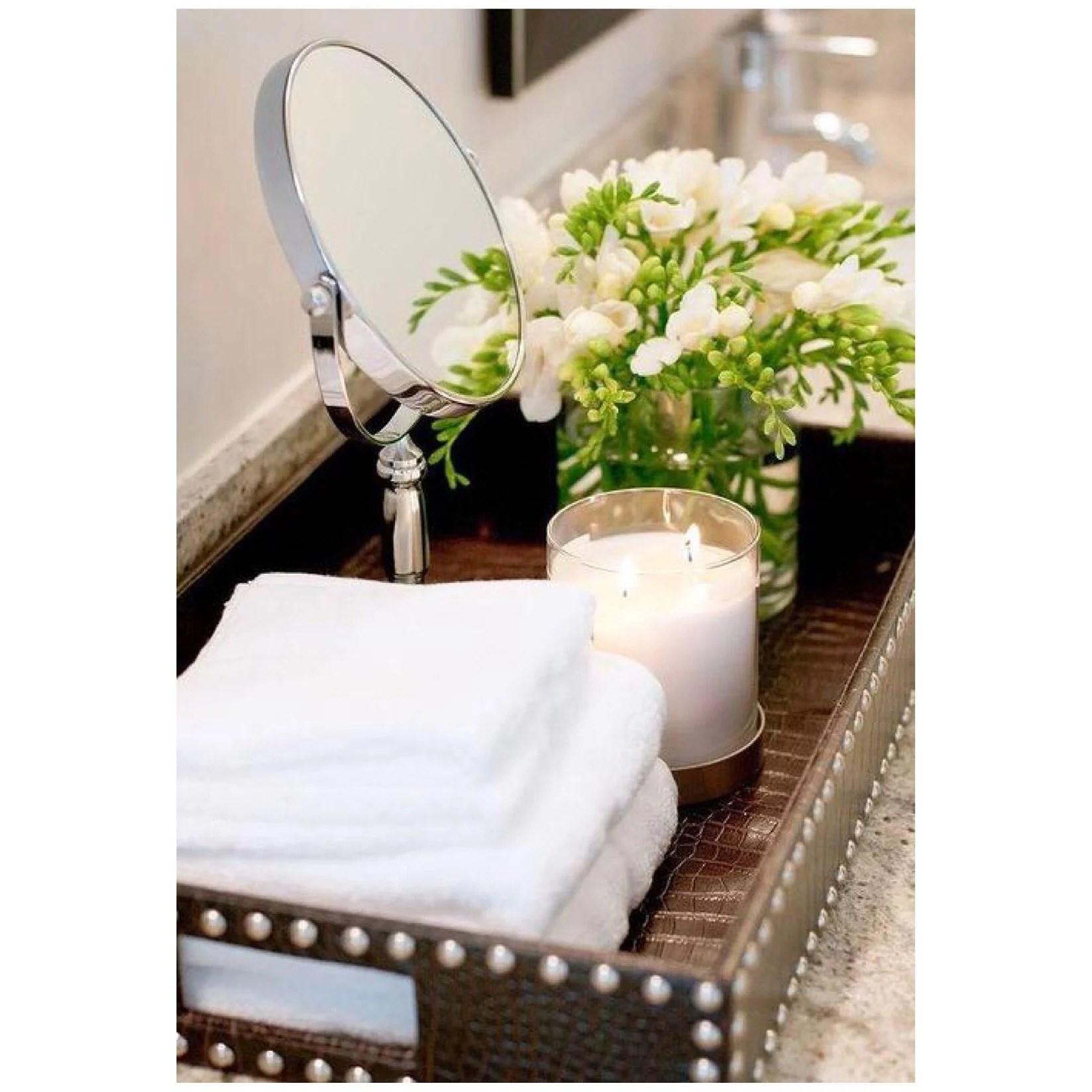 Hur får du ditt badrum att se dyrare ut?