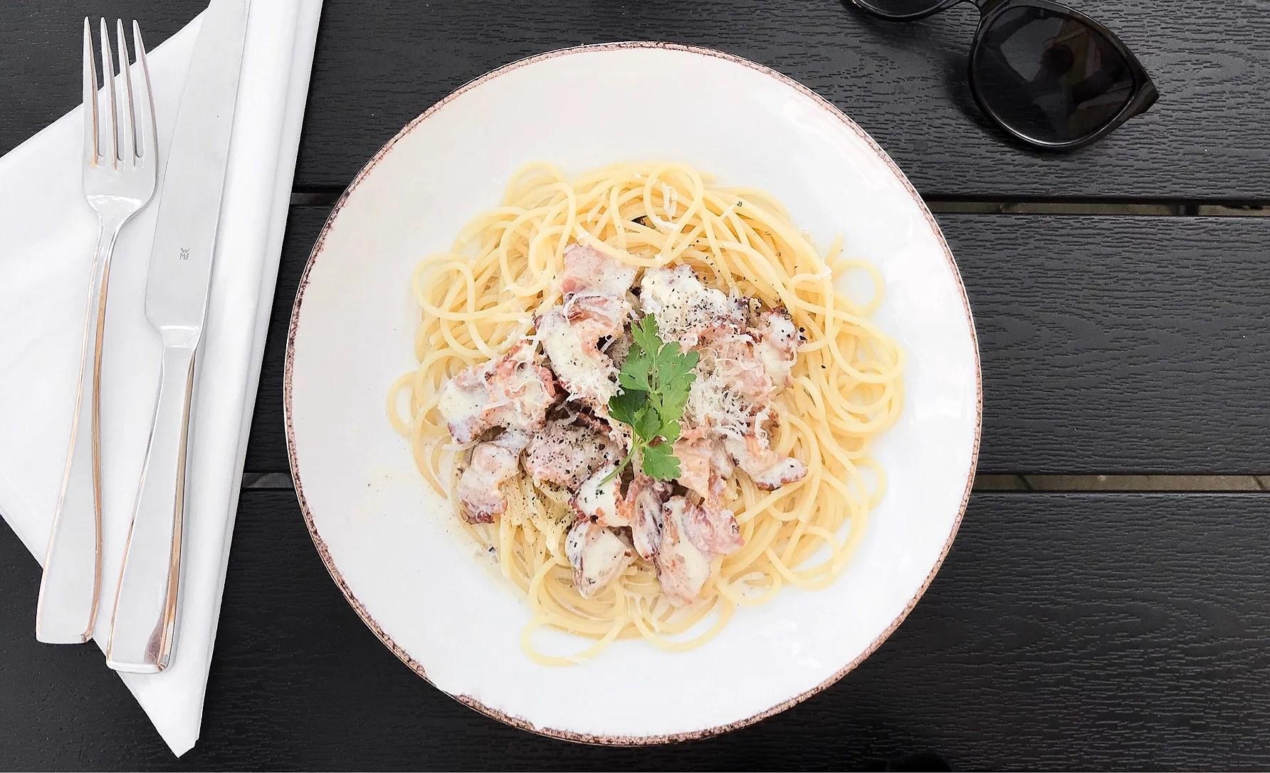 Spagetti Carbonara & överdriven hetta