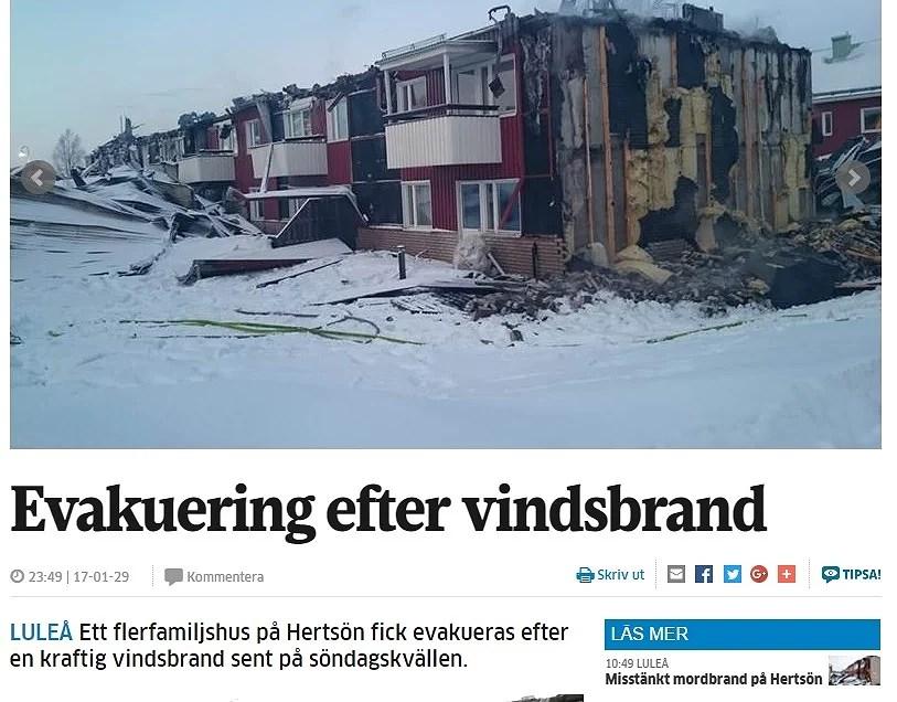 I natt brann ännu ett hus - när ska det få ett slut?