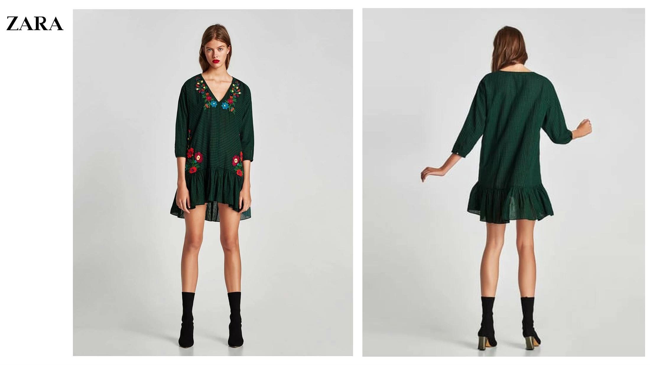 Vestido rebajada Zara