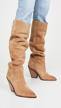 camel boot high indigo boots sam edelman