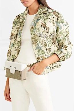 sage green yuzefi belt bag