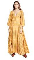 staud dress long sleeve