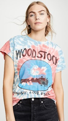 woodstock t-shirt tie dye