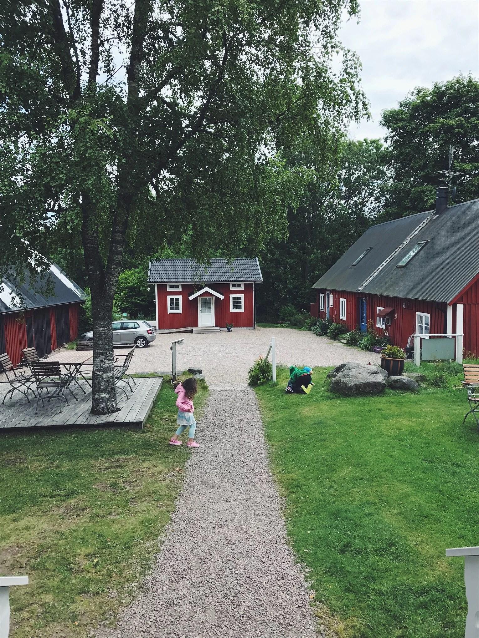 Det danska fiket i våra svenska skogar