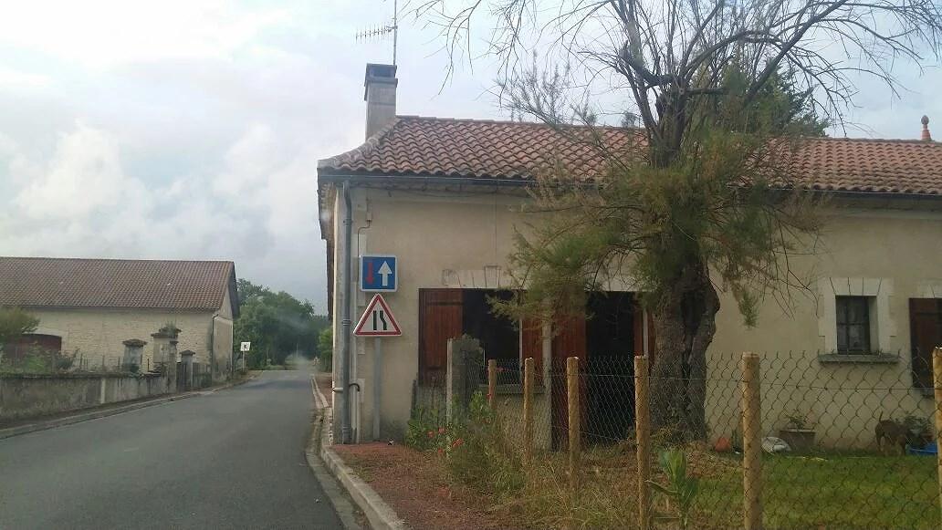 På landet i Frankrike...
