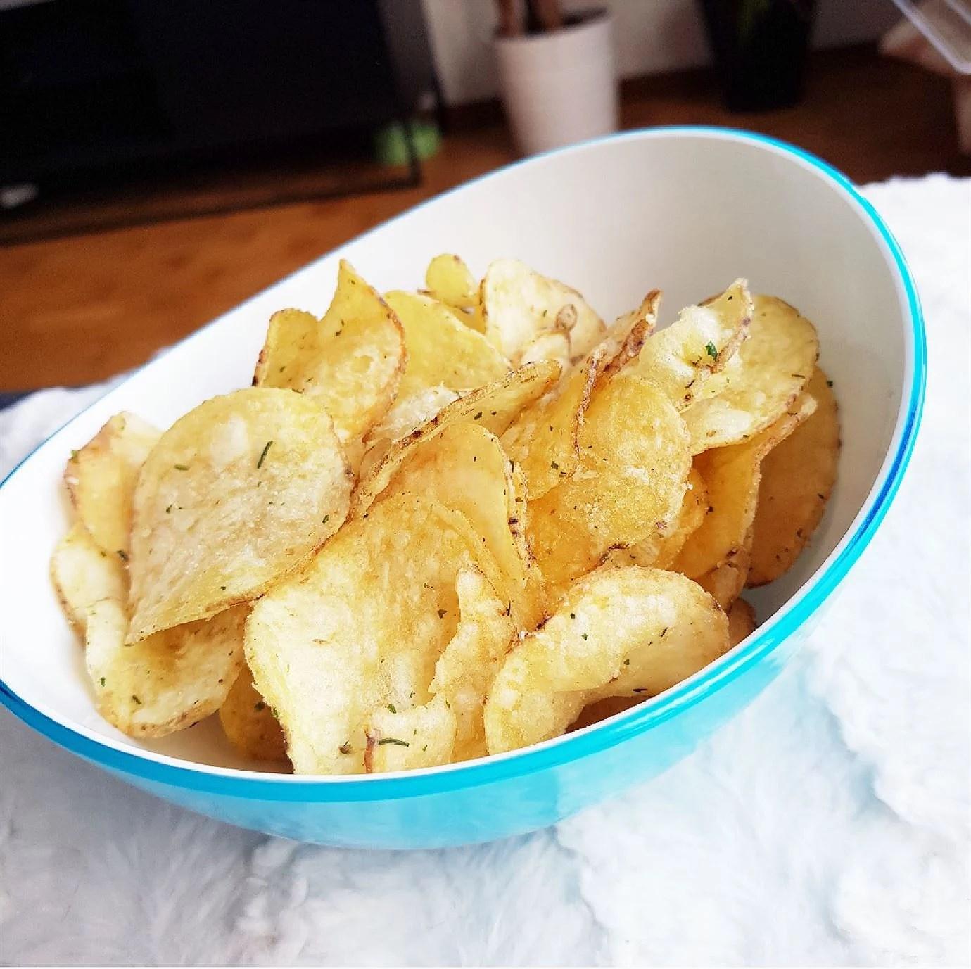 Veganska sourcream & onion chips 12 kr